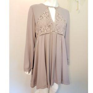 Gianni Bini Lavender Lilac Dress